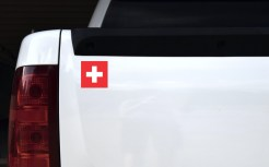 Swiss Flag Sticker