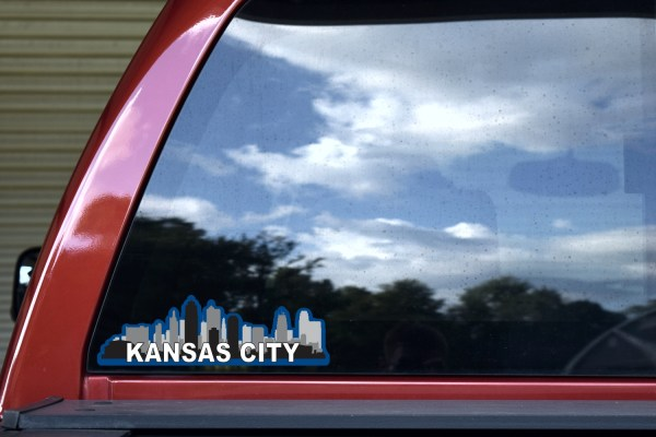 Blue Kansas City Sticker