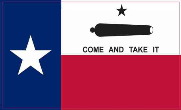 Come and Take It Texas Flag Magnet