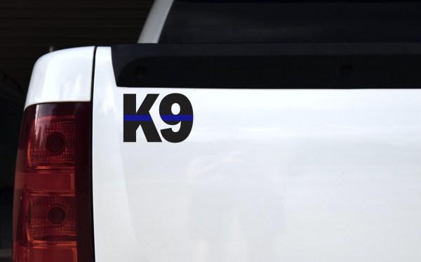 Blue Lives Matter K9 Sticker