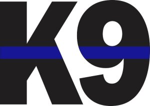 Blue Lives Matter K9 Sticker