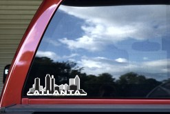 Atlanta Skyline Sticker