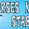 Horses Keep Me Stable Bumper Sticker