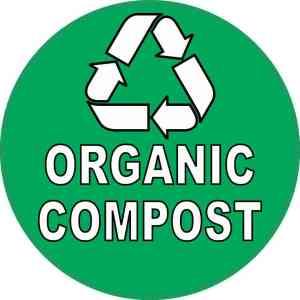 Organic Compost Sticker