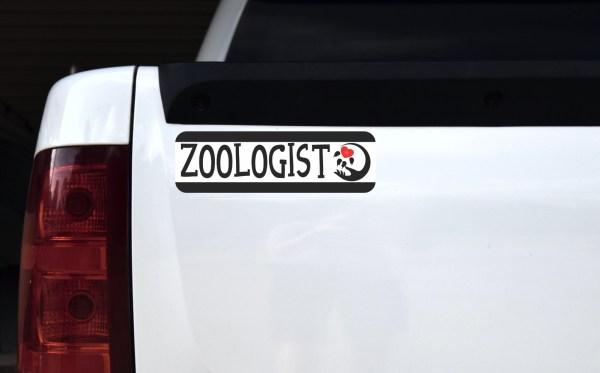 Zoologist Bumper Sticker