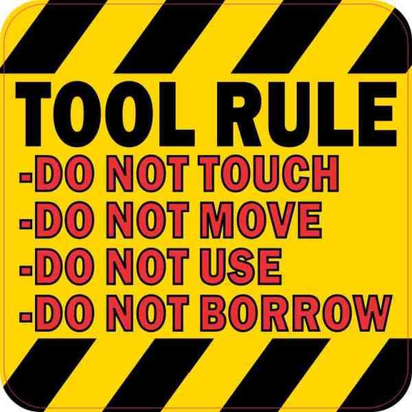 Tool Rule Magnet