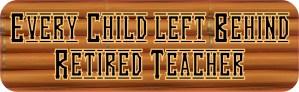 Every Child Left Behind Bumper Sticker