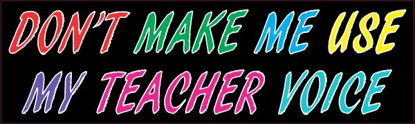 Teacher Voice Magnet