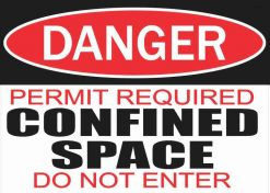 Permit Required Confined Space Magnet