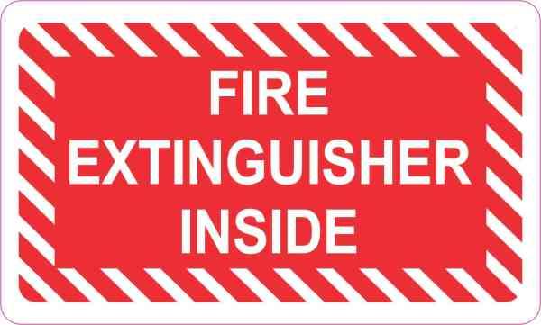 Fire Extinguisher Inside Magnet