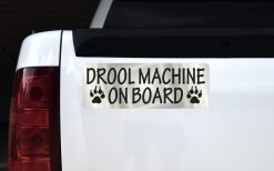 Drool Machine on Board Magnet