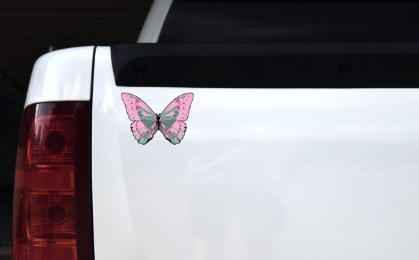 Butterfly Vinyl Sticker