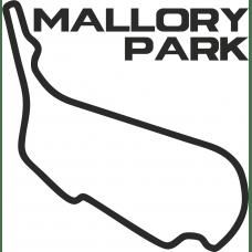 Mallory park circuit outline