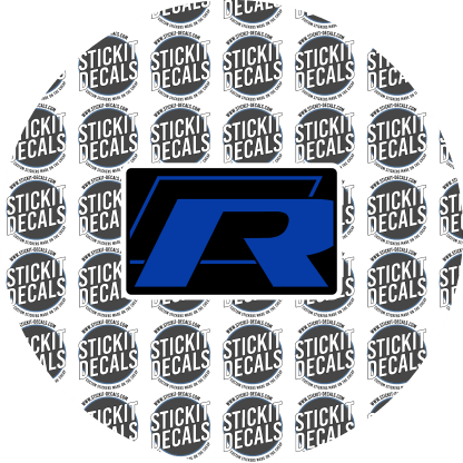 VW Airbag Label Warning Cover Golf R R32