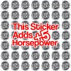 add 5hp sticker decal