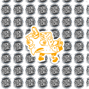 spongebob mocking decal sticker meme