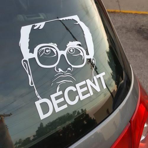 trailer park boys bubbles decent decal sticker