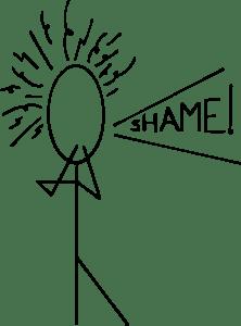 Shame StickLady