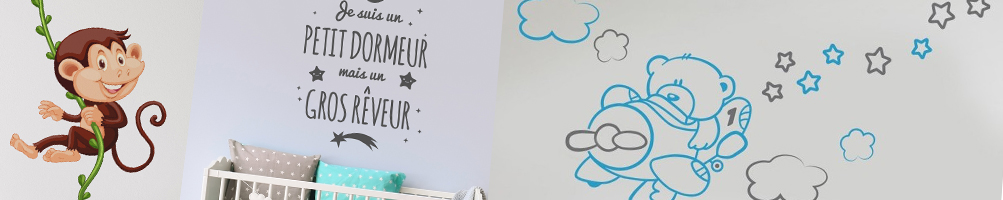 stickers enfant decoration murale
