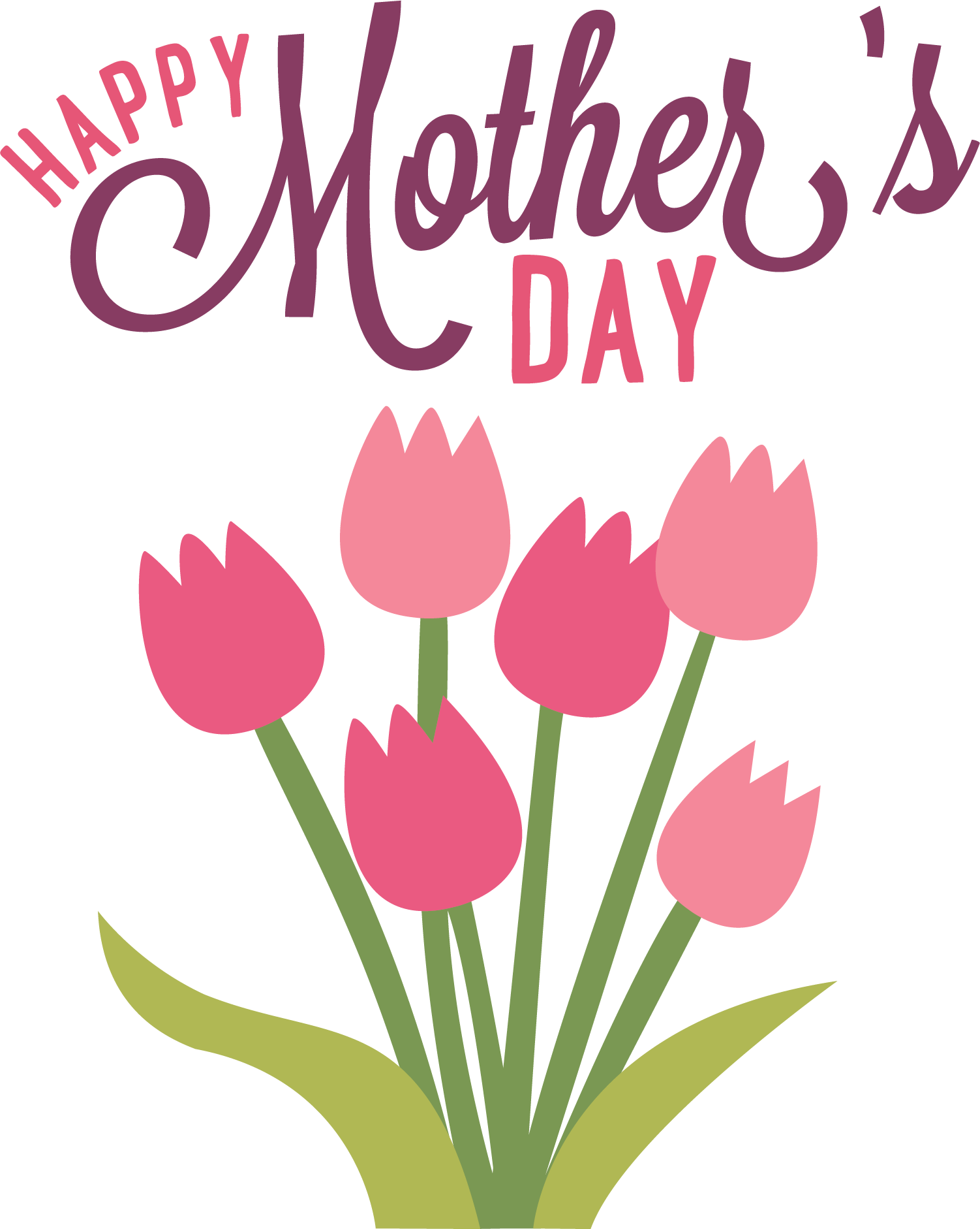hight resolution of happy mothers day flowers