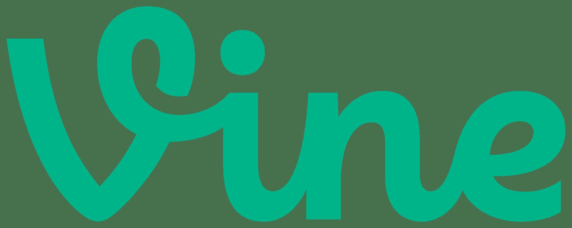 vine logo transparent png