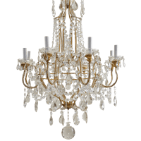 Crystal Vintage Chandelier transparent PNG