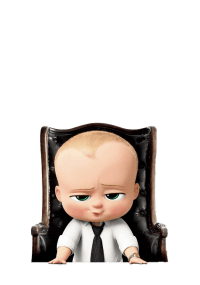 Boss Baby In Desk Chair transparent PNG - StickPNG