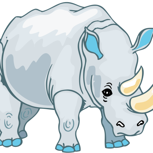 small resolution of download animals rhinoceros