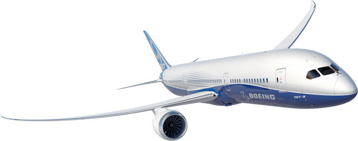 Image result for Boeing 787 png