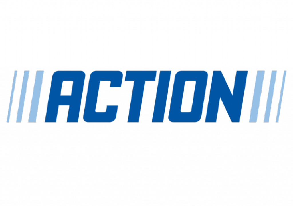 action logo transparent png