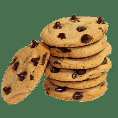 cookies large stack transparent