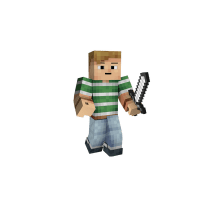 Minecraft Character Png