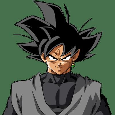 Black Goku Hand Transparent PNG StickPNG