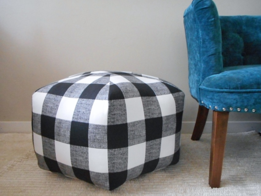 Floor Poufs and Moroccan Ottomans by Stick Pony Studio