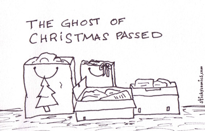 the ghost of christmas past