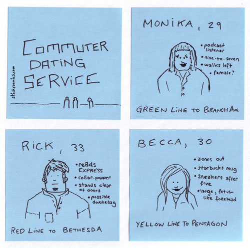 the commuter dating service