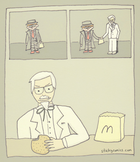 The Colonel is a man of many secrets, and not all of them are recipes