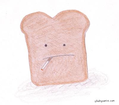 toast smoking