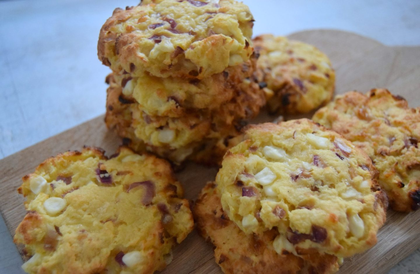 how to make cheese and onion scones