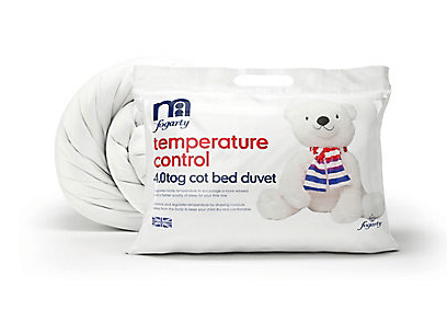 Mothercare by Fogarty Temperature Control