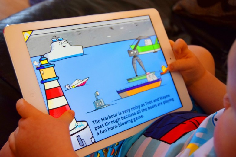 Toot The Tiny TugBoat App & Merchandise