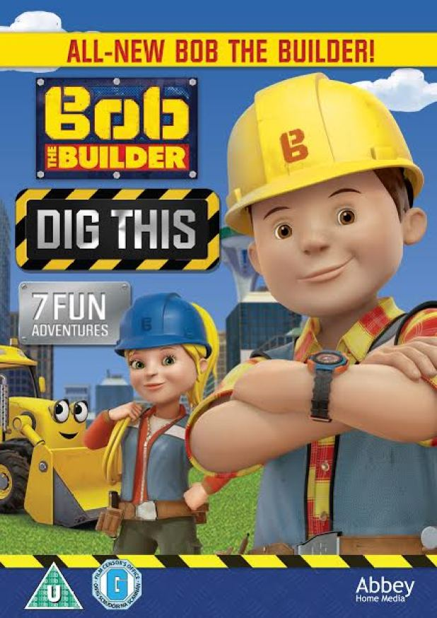 Bob the Builder Dig This DVD