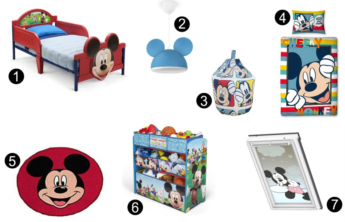 Disney bedroom ideas Mickey Mouse