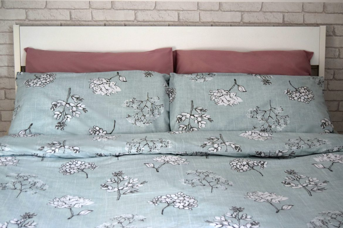 Floral duvet cover From JD Williams In duck egg blue