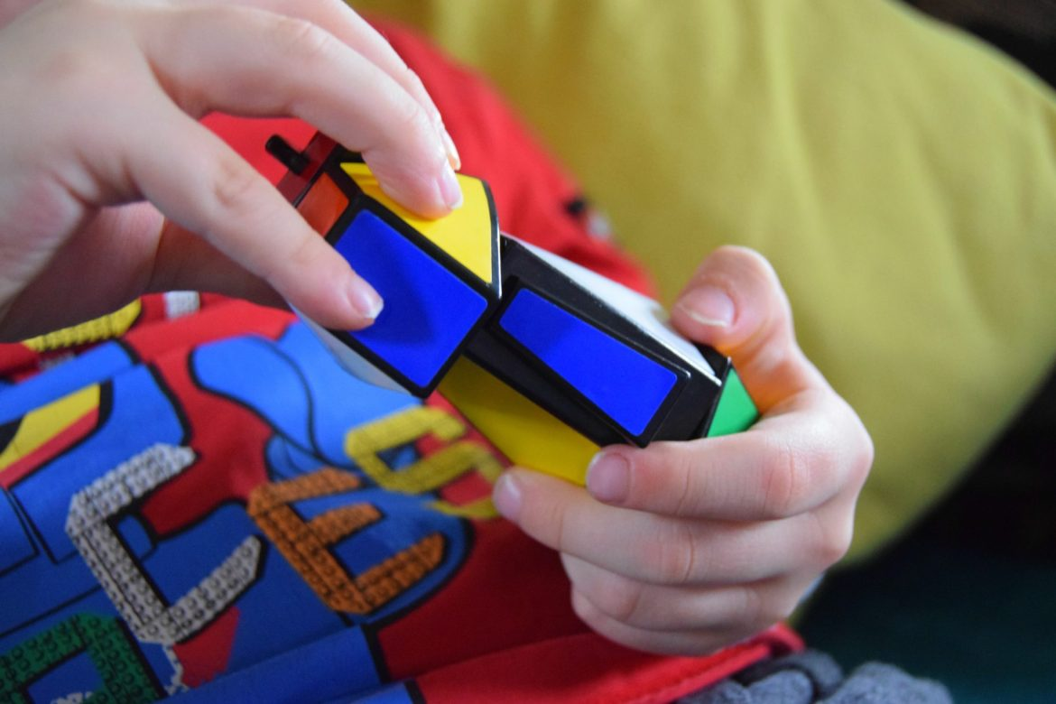 Rubiks junior puzzle