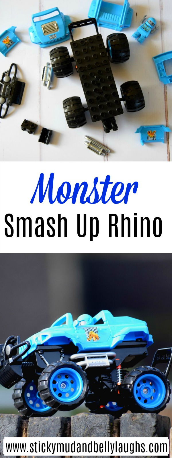 Monster Smash Up's Rhino remote controlled 4x4. #toyreview #toys #remotecontrolled