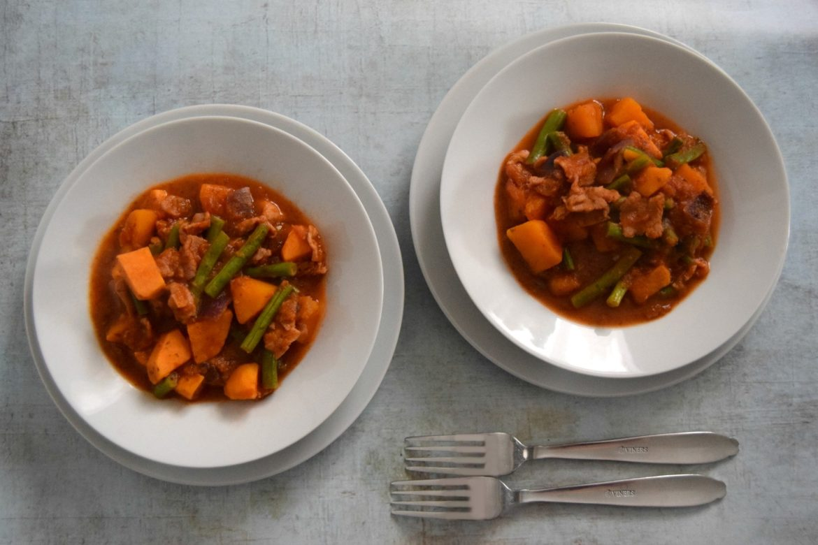 Slimming World Bacon Squash And Sweet Potato Stew Sticky