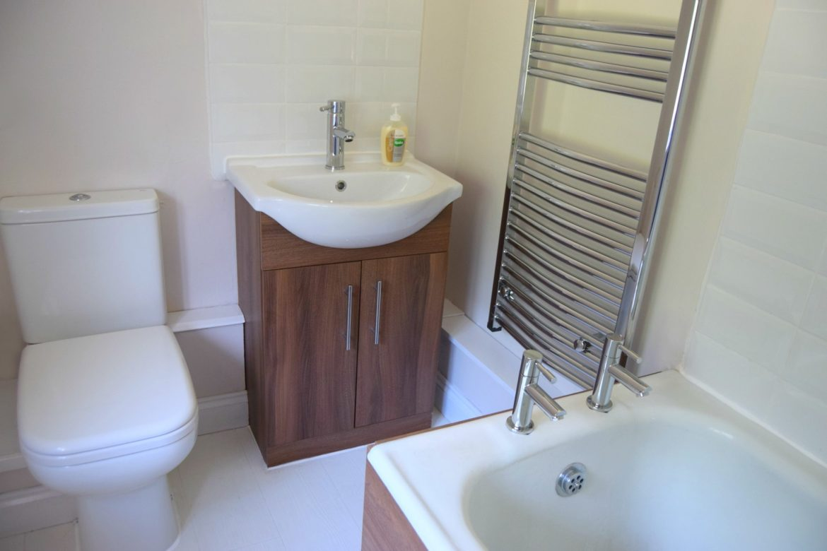 A bathroom suite for a small bathroom. Bathroom ideas