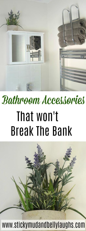 Adding some bathroom accessories after our bathroom renovation. #homeimprovement #homeinterior #interiordesign #bathroomideas #homeprojects