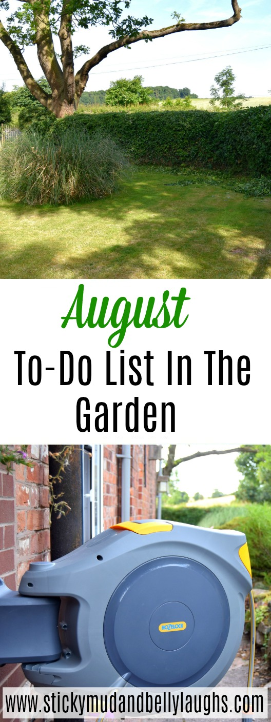 A handy checklist of things to do in the garden in August. #gardening #review #gardeningtips #gardentools